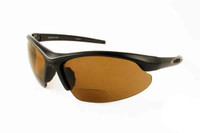 Grand Banks™ Polarized Bi-Focal Readers: 474BF in Black & Amber