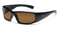 Smith Optics™ Tactical Sunglasses: Hidout in Black & Brown Lens