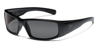 Smith Optics™ Tactical Sunglasses: Hidout in Black & Grey Lens