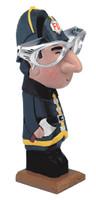 Fireman Peeper Eyeglass Holder Stand