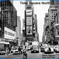 New York Scenery Cleaning Cloths: Time Square North
