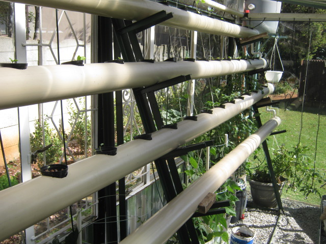Hydroponics Greenhouse Built From Scrap For Less Than