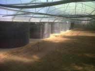 7700 Litre Welded Mesh Reinforced 800g PVC Liner Fish Tank