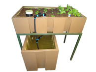 AquaEco Aquaponics System.