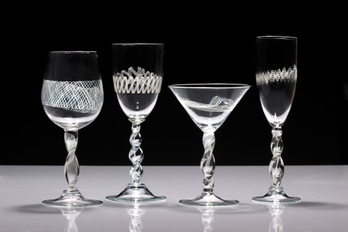 Multi Filigree Stemware