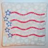 American flag primitive ith in the hoop coaster mug rug machine embroidery design.jpg
