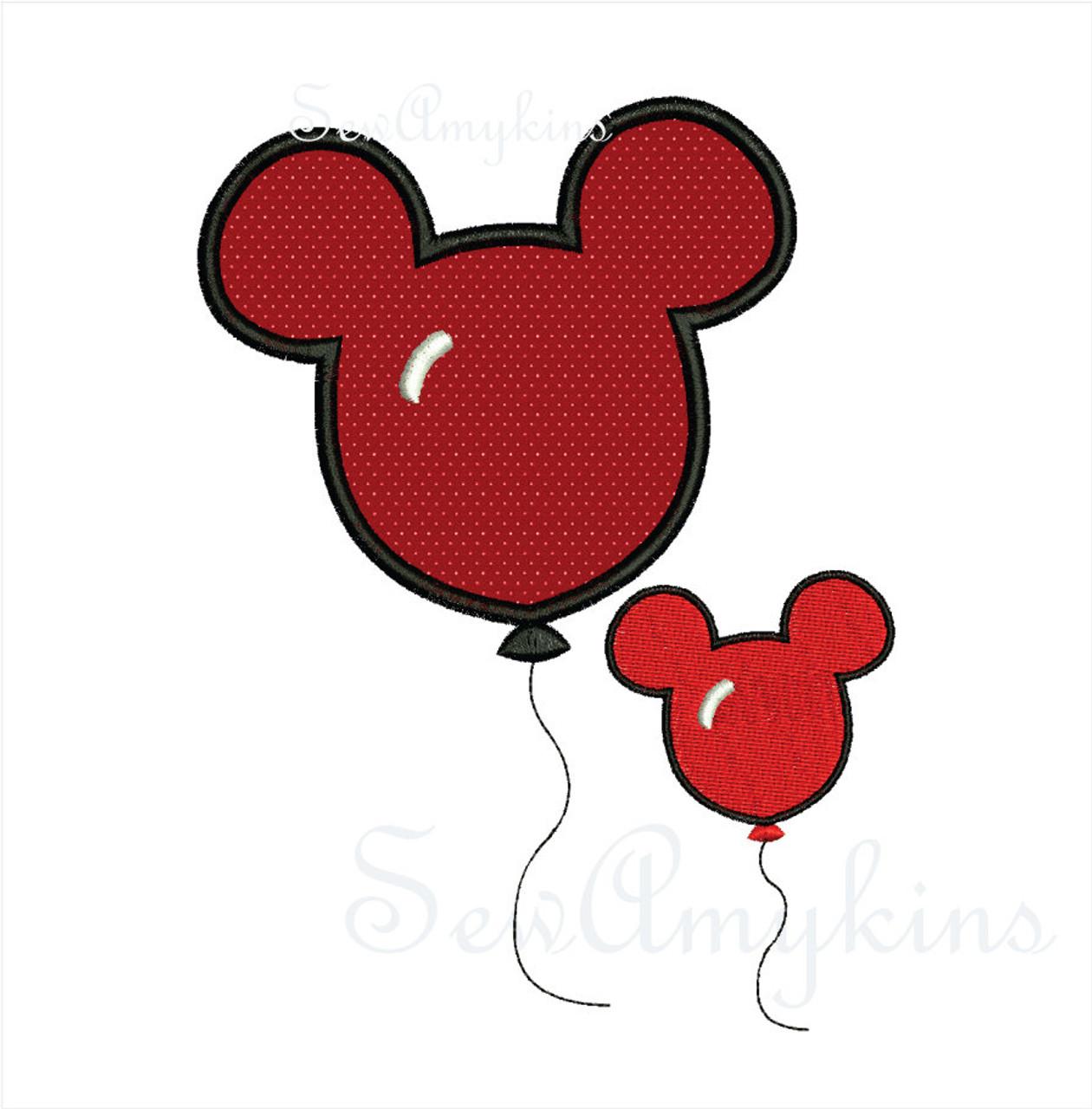Mickey Mouse Balloon 5 Files Sewamykins