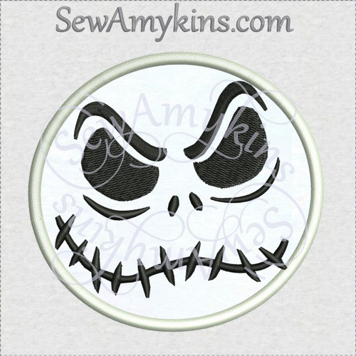 nightmare before machine embroidery designs