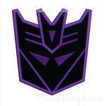 Decepticon Applique Transformers robot