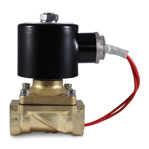 1 2 110v Ac Electric Brass Solenoid Valve 110 Volts