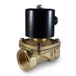 "1-1/4"" 24V DC Electric Brass Solenoid Valve"