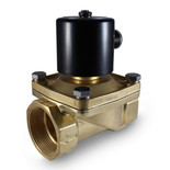 "2"" 24V AC Electric Brass Solenoid Valve"