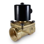 "1-1/2"" 110V AC Electric Brass Solenoid Valve"