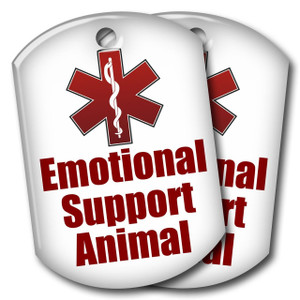 Emotional Support Animal Tags