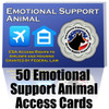 50 Emotional Support Animal (ESA) Cards To Give to People