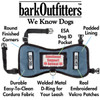"barkOufitters ""Leader""  Vest Harness - Denim -  5 Sizes - Service Dog or ESA"
