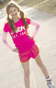 HEART PINK SKATE STYLE