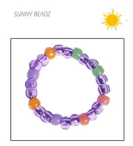 PURPLE UV BRACELET IN THE SUN