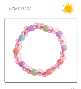 PINK COLOR CHANGE BRACELET IN THE SUN