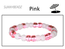 PINK COLOR CHANGE BRACELET NO SUN