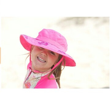 KIDS SAFARI HAT SUN PROTECTIVE ZONE UPF 50+