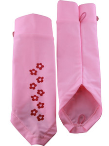 PINK DAISY SUN SLEEVES WITH HANDCOVER