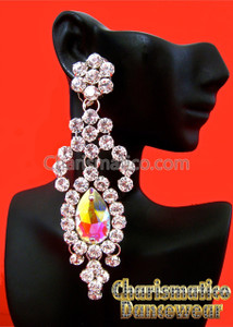 CRYSTAL DIVA Tear DROP Swarovski Earrings