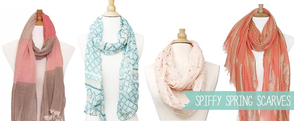 Spring Scarf Styles