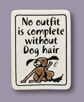 No Outfit Complete Dog Hair Magnet