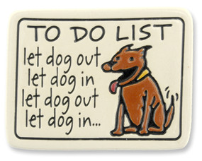 Dog To Do List Magnet