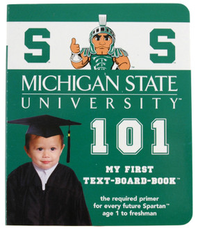 michigan state university msu 101 baby toddler board book