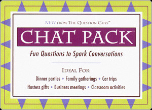 chat pack unique conversation game great stocking stuffer fun questions to ask people