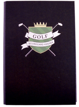 golf score card keeper saver gift for dad husband golfer grandfather mom mother grandfather