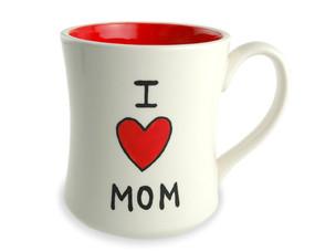 i love heart mom ceramic coffee tea mug gift for mothers day birthday