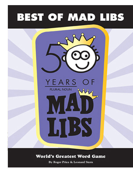 best of mad libs kids activity word game book travel fun