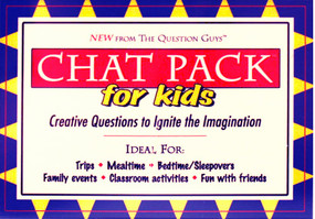 chat pack for kids - creative questions to ignite the imagination