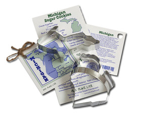 michigan cookie cutter set unique gift for kitchen cook  mom mother grandmother aunt sister girlfriend