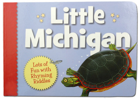 little michigan board book gift for little boys girls toddlers stocking stuffer great unique