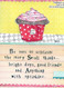 Be sure to celebrate the many small things bright days good friends and anything with sprinkles curly girl designs whimsical cute refrigerator fridge magnet gift girlfriend birthday special occasion
