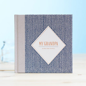 grandpa grandfather granddaddy his stories his words book unique fathers day birthday gift