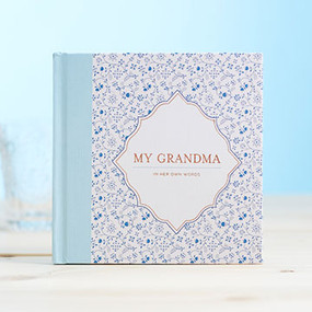grandma prompted response memories book