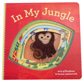 in my jungle finger puppet board book gift for baby shower toddler kids
