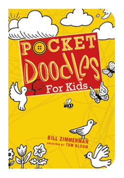 pocket doodles for kids book little boys girls drawing art book cute stocking stuffer