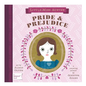 pride and prejudice counting primer board book for toddlers kids children little girl