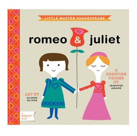 romeo and juliet counting primer book for kids children shakespeare