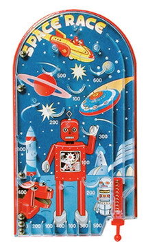 space race pinball retro toy cute gift for little boy girl kids