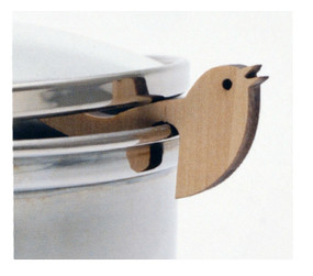 bird wood pot guard unique kitchen tool accessory gadget gift for cook mom grandma girlfriend wife