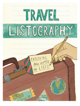 travel listography book great gift for graduation