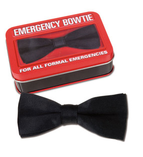 portable emergency bowtie unique gift for young guy man son formal occasion in an instant
