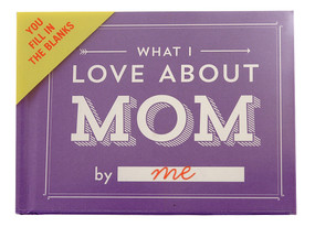 what i love about mom by me book journal mothers day gift